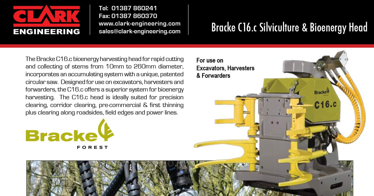 Clark Engineering new Bracke dealer in the UK