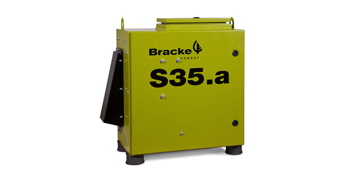 Bracke S35.a - The intelligent seeder