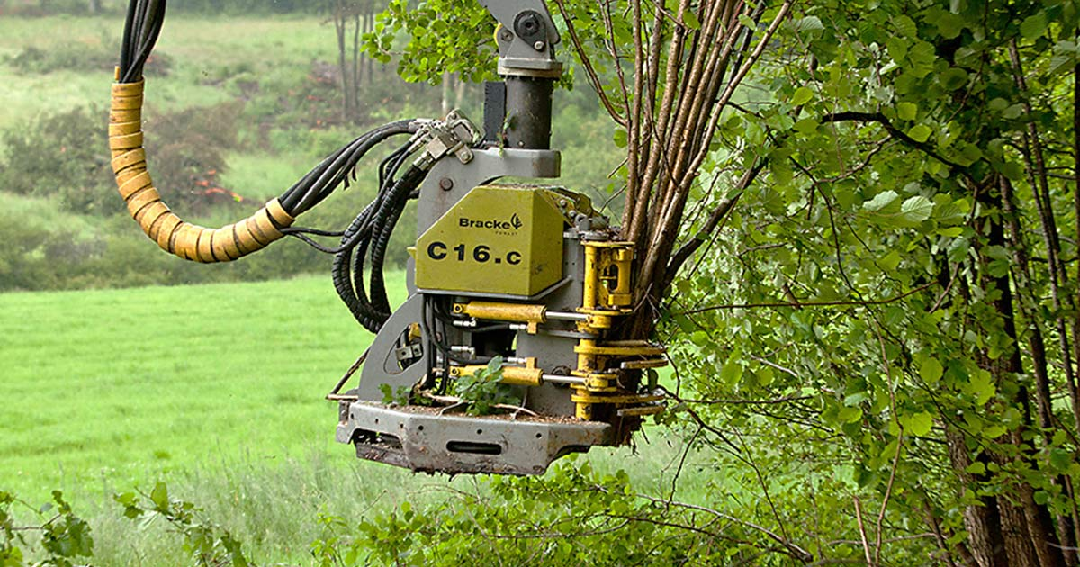 Manufacturing forestry equipment and machines - Bracke