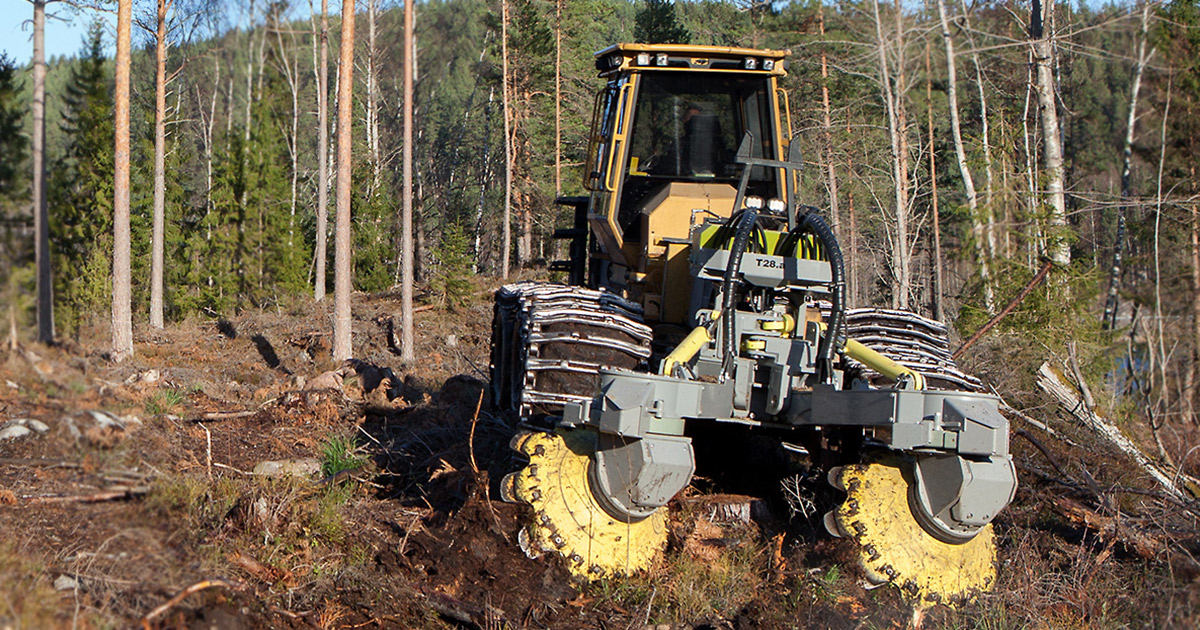 Forestry Equipment And Machines Manufacturer Bracke Forest